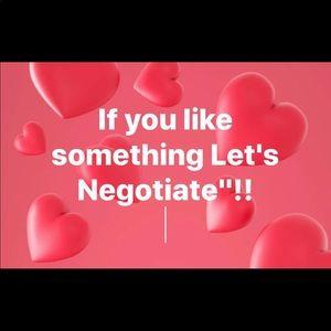 Let's negotiate!!